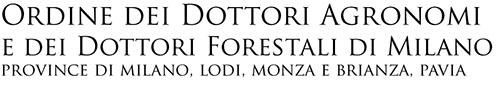 ordine dei dottori agronomi e forestali di milano logo
